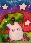 4-11 White Totoro Stars