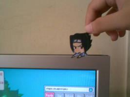 Sasuke paperchild by SachiRin