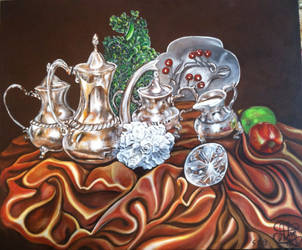 Still Life Finished by AnnetteJimerson