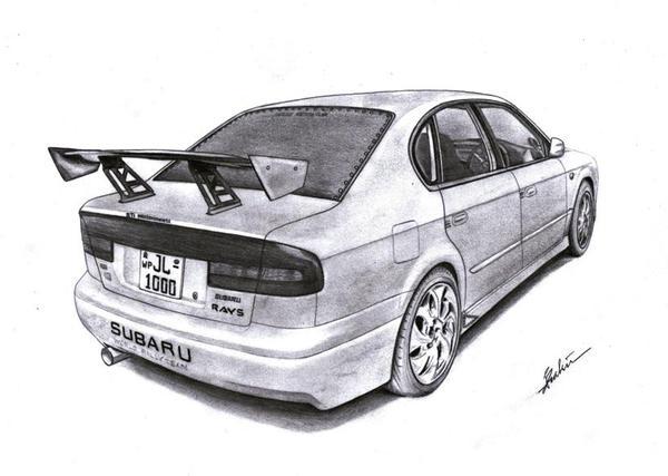 Subaru Legacy B4 By Shaksam On Deviantart