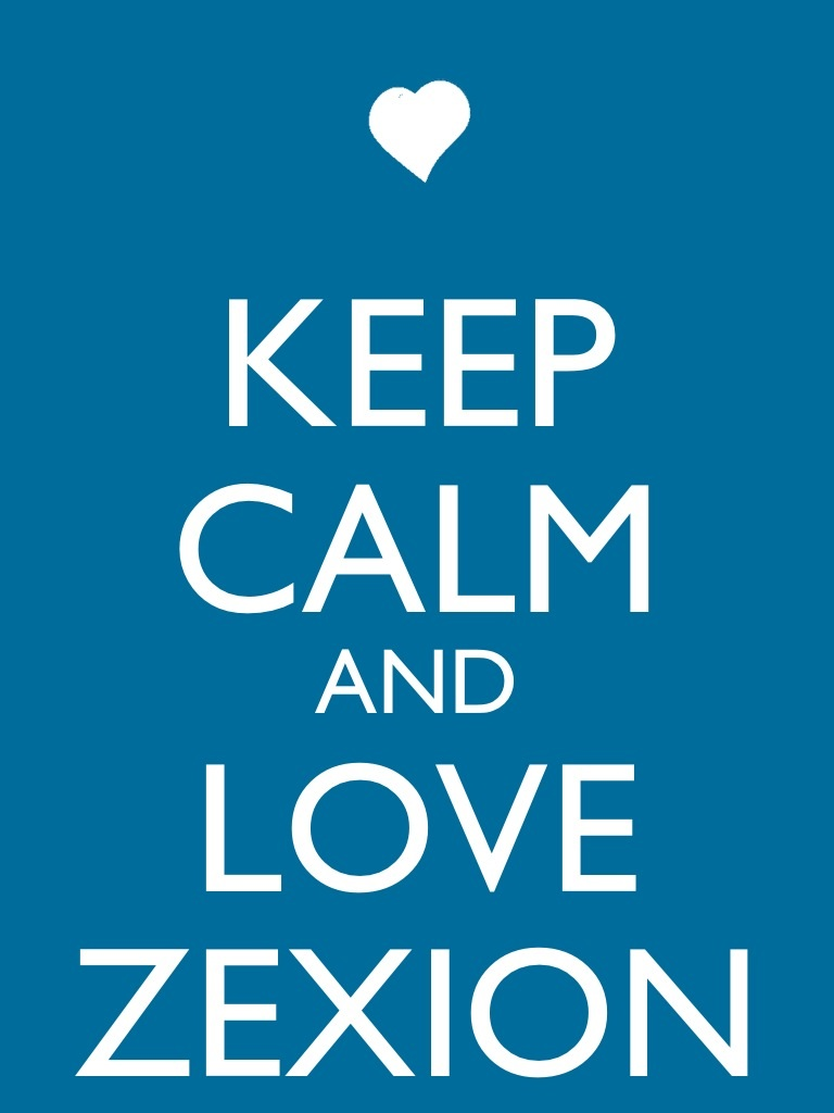 Keep Calm and Love Zexion by Xendrak18