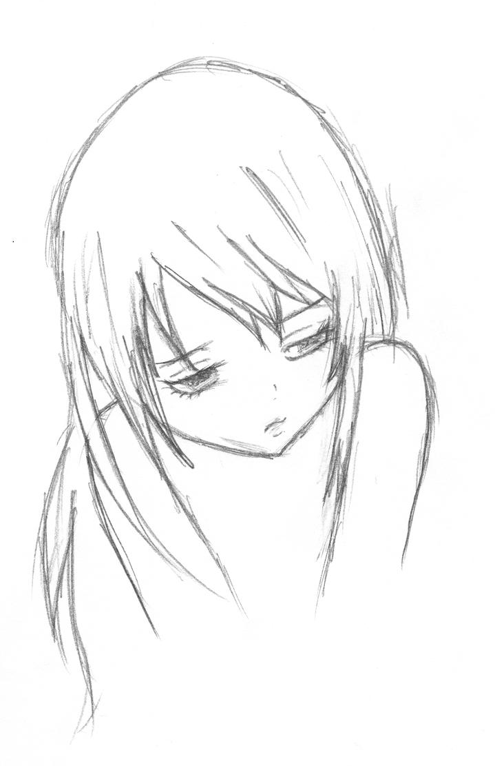 Sad Love Anime Drawings | Www.imgkid.com - The Image Kid Has It!