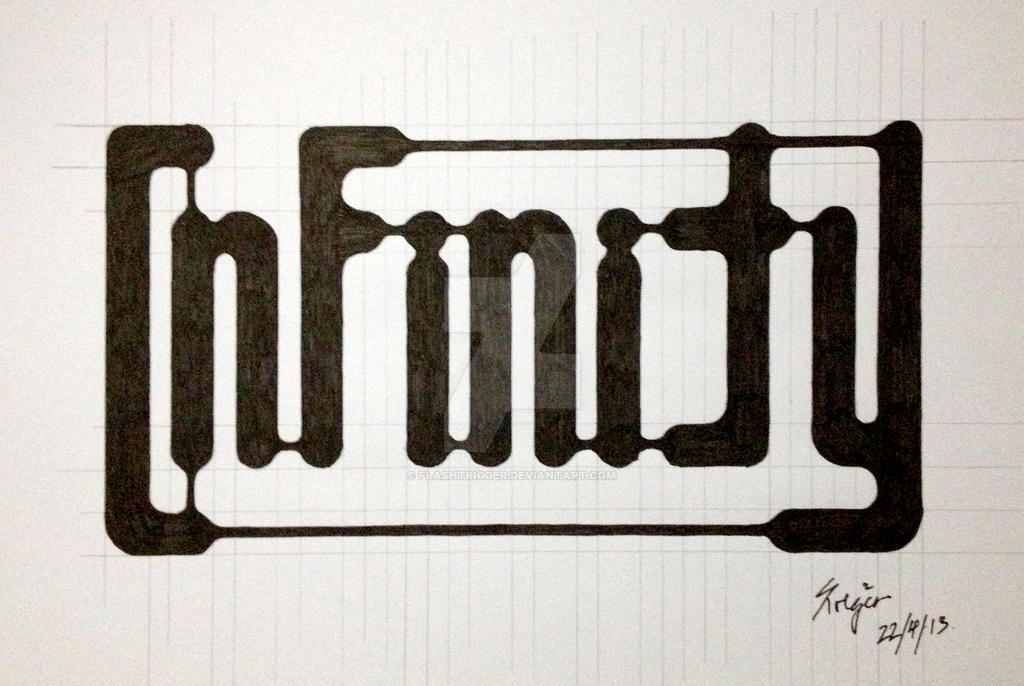 word art of the week 1 infinity by flashtrigger on deviantart
