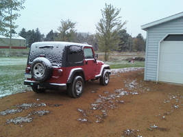 Light snow on the Jeep 02 by furocious-studios