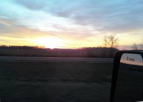 Jeep Sunrise by furocious-studios