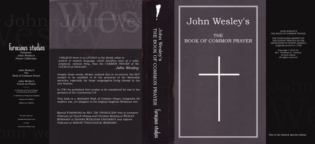 John Wesley's The Book of Common Prayer by furocious-studios