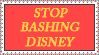Stop Bashing Disney stamp by tuxedomartyamvhub