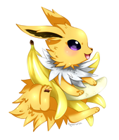 Fruity Jolteon by beanbunn