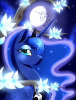 Princess Luna by beanbunn