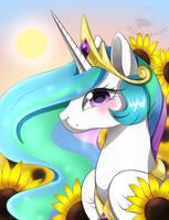 Princess Celestia by beanbunn