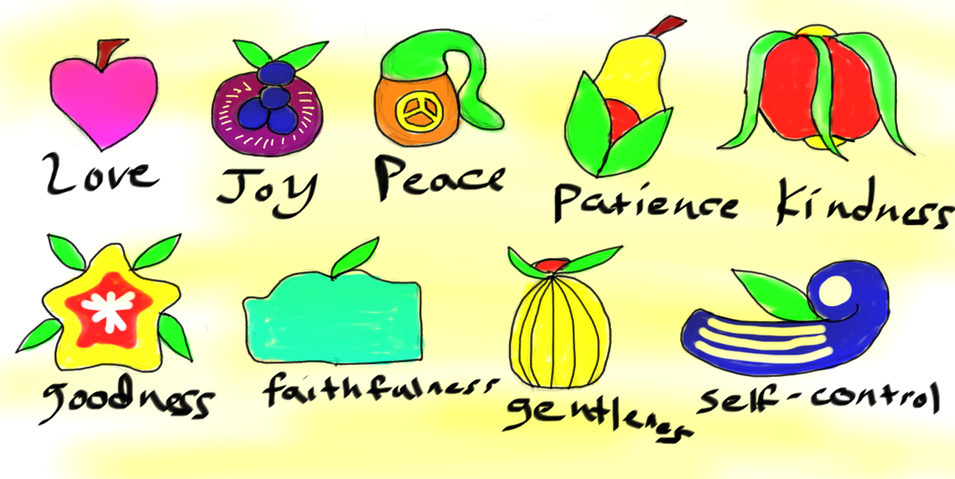 Fruits Of The Holy Spirit By Highkickfan On Deviantart