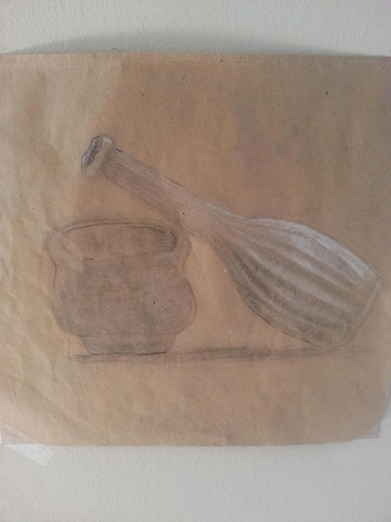 Vase tilted by highkickfan