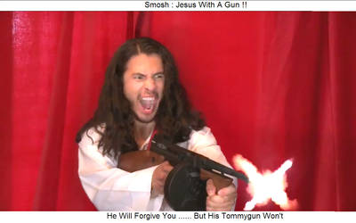 Smosh : Jesus's Tommygun by Division90