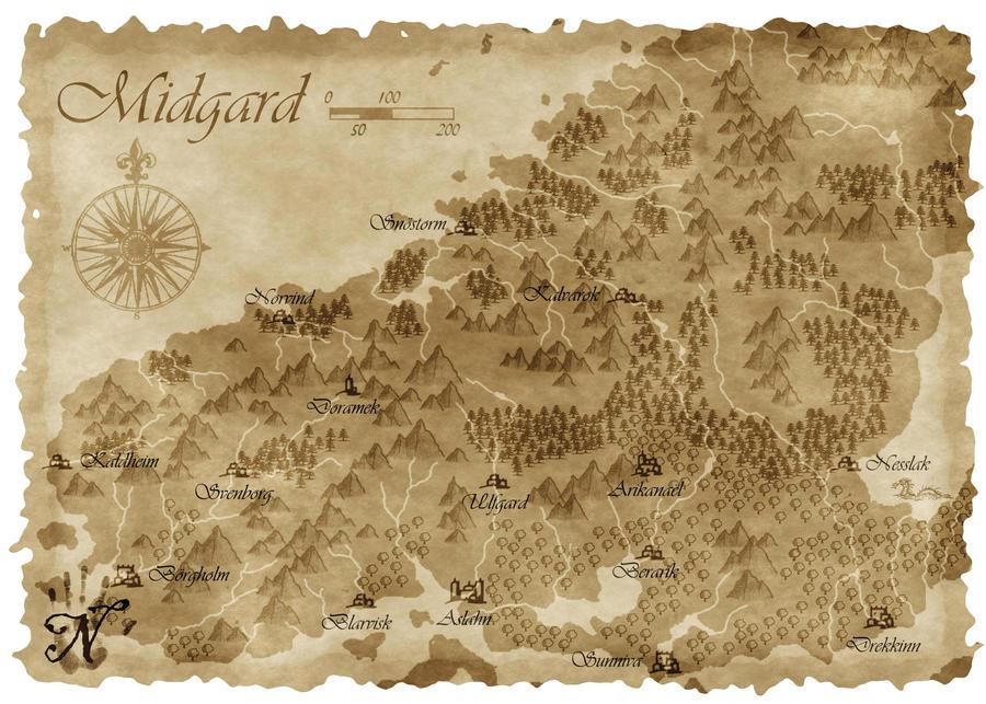 Midgard parchment