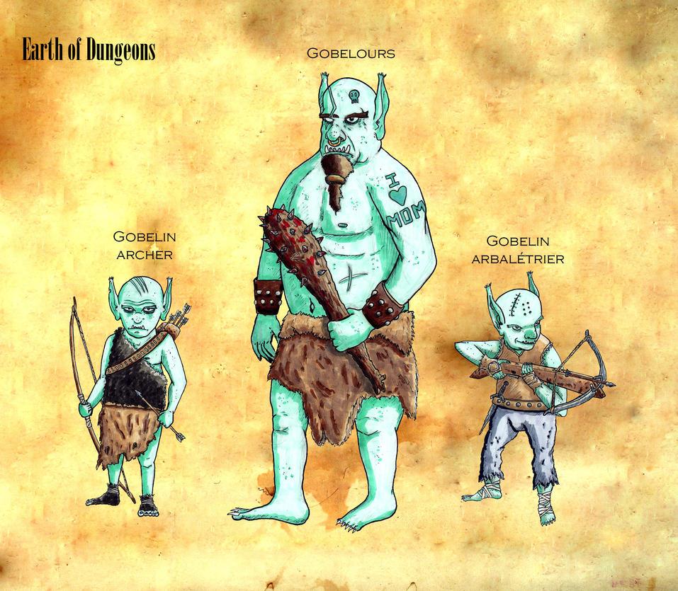 Goblin Family by Natah1