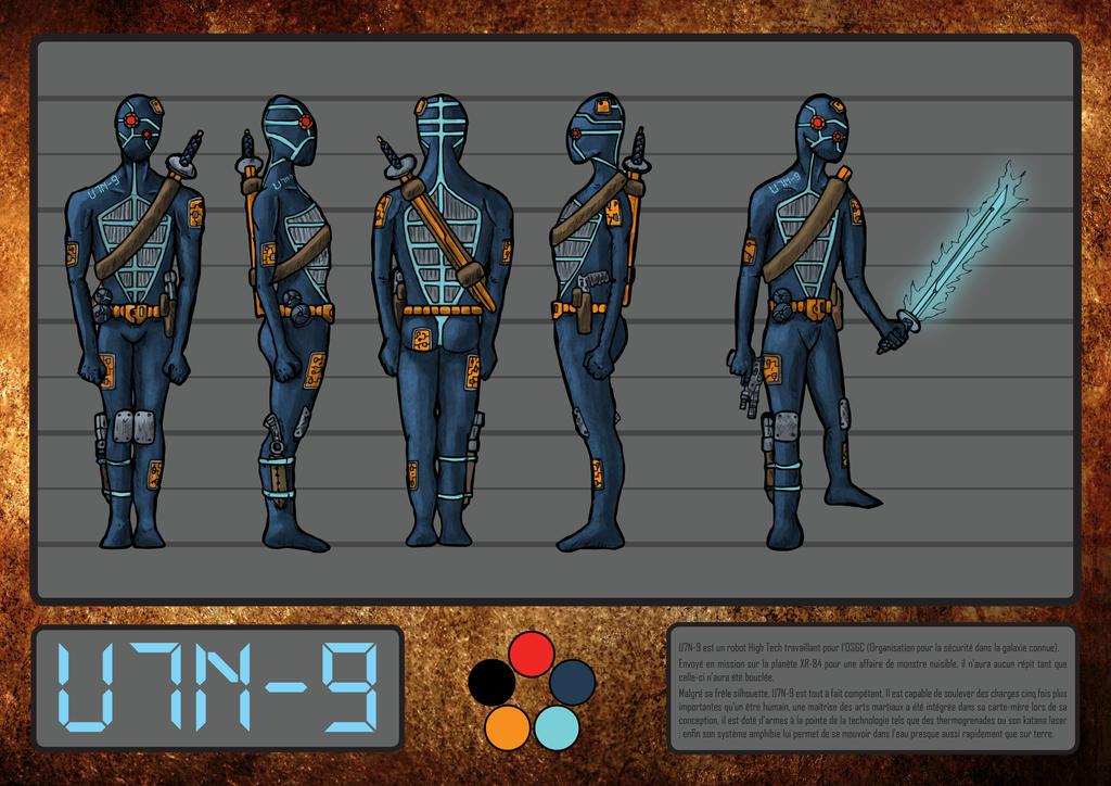 U7N-9 modelsheet by Natah1