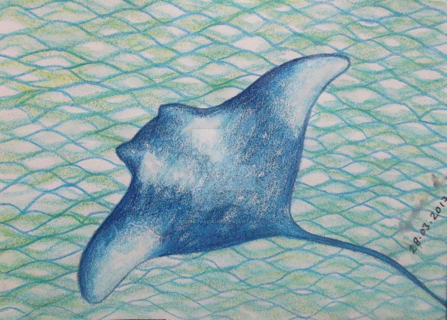 Day 8 - Sea creature by AmyNovacaine