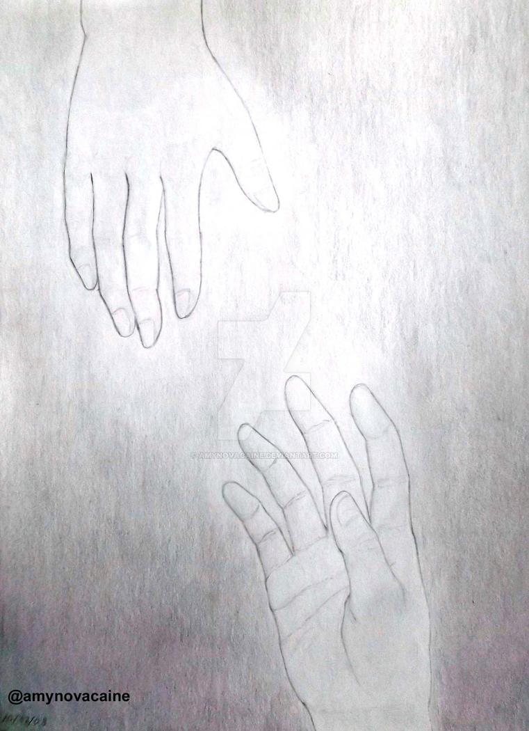 Helping hand by AmyNovacaine