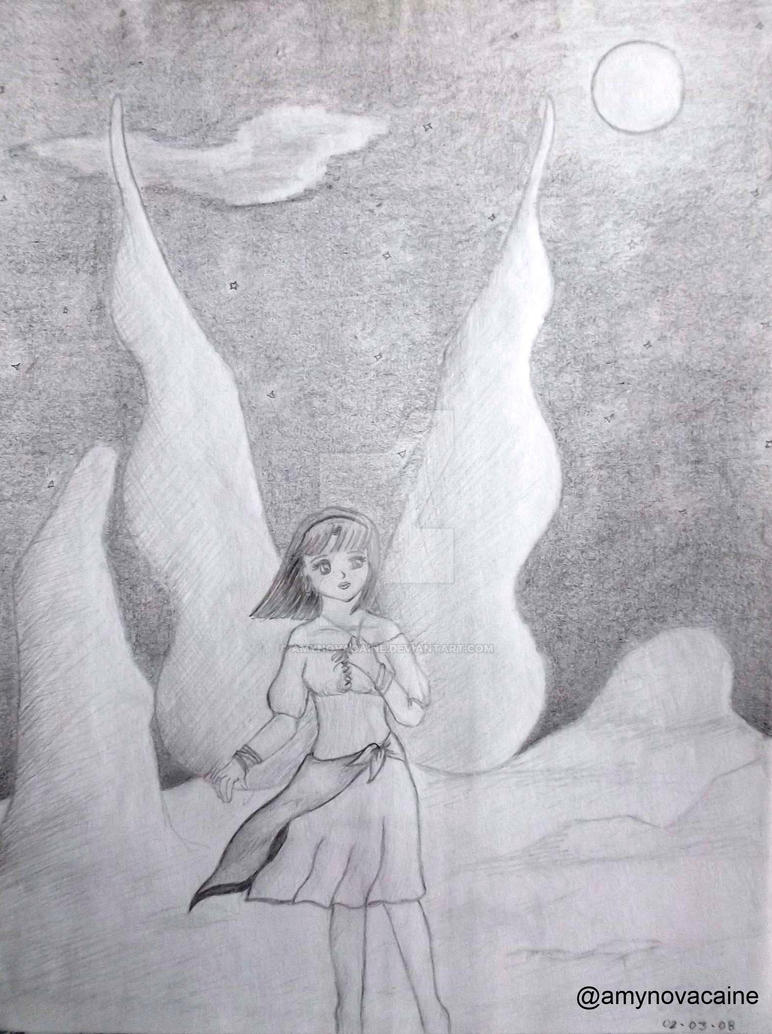 Under the Moon by AmyNovacaine