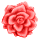 Misc Icon - 001 Rose Red by BAKASHiYOU