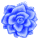 Misc Icon - 004 Rose Blue by BAKASHiYOU