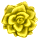 Misc Icon - 008 Rose Yellow by BAKASHiYOU