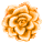 Misc Icon - 009 Rose Orange by BAKASHiYOU
