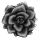 Misc Icon - 012 Rose Black by BAKASHiYOU