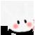 Animal Icon - 005 Bunny White L