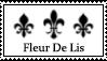 Art Stamp - 006 Fleur De Lis by BAKASHiYOU