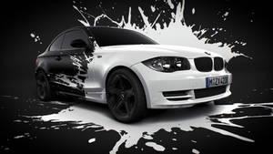 BMW White splash