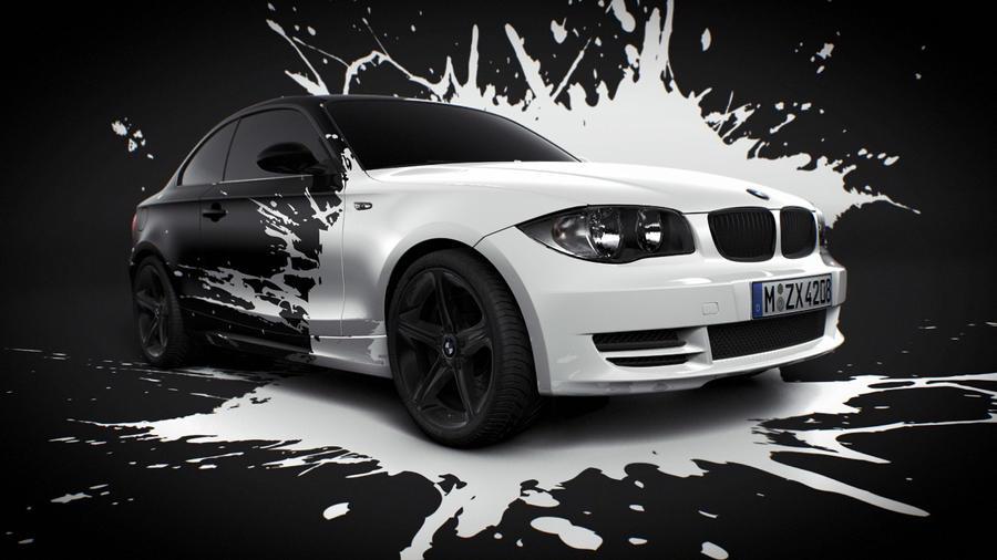 BMW White splash by MUCK-ONE