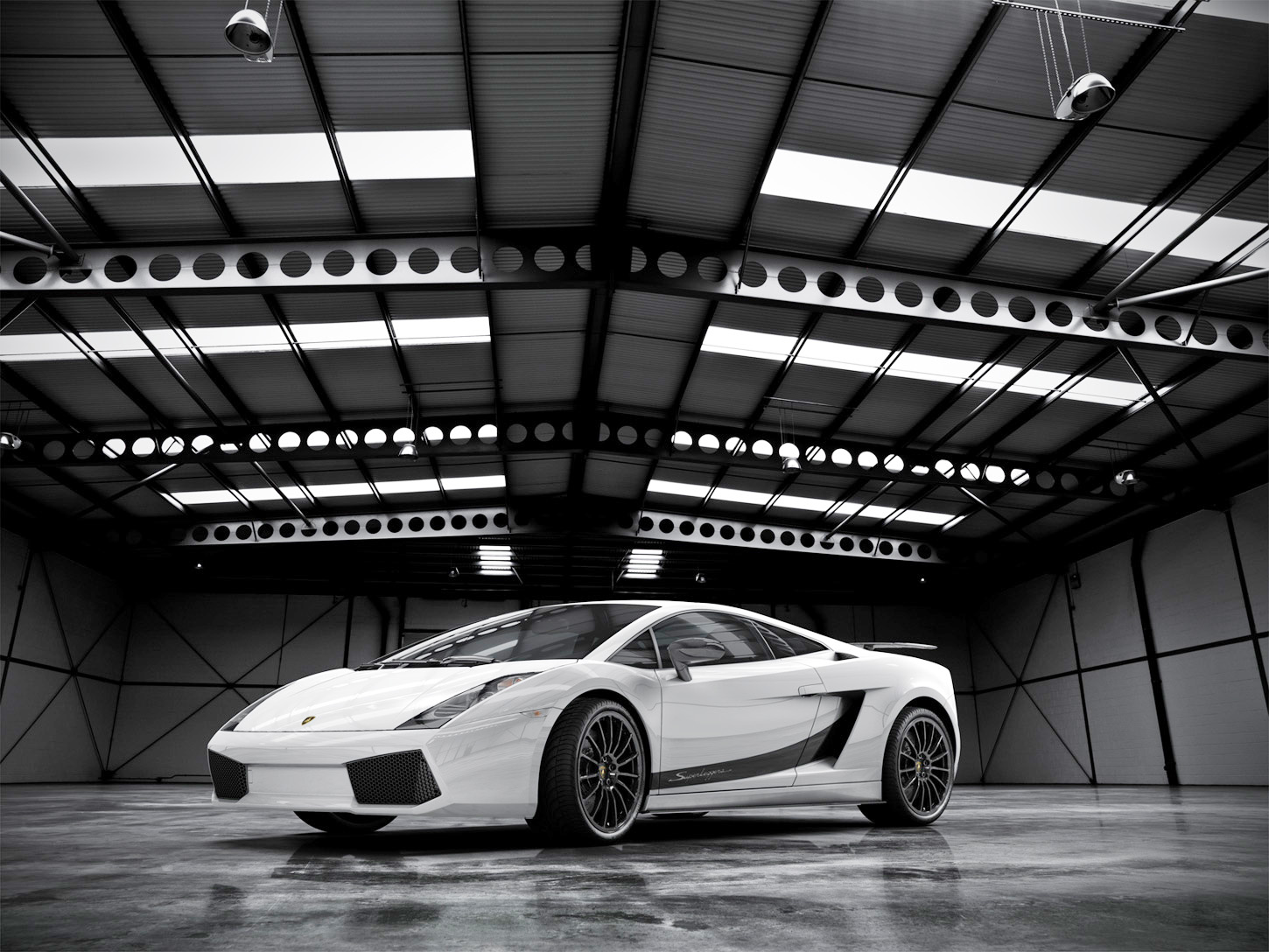 White Lamborghini Superleggera by MUCK-ONE
