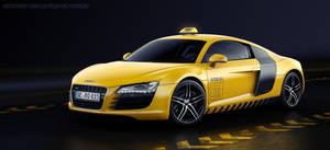 Audi R8 Race Taxi