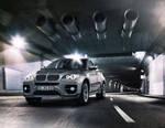 BMW X6 tunnel