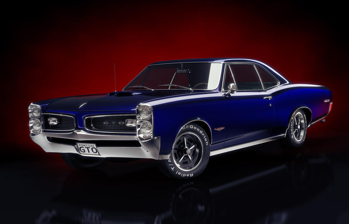 1966 Pontiac GTO by MUCK-ONE