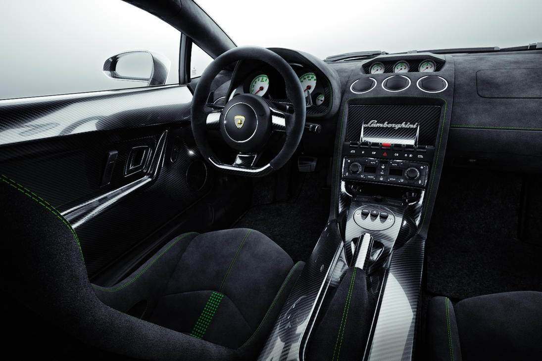 Lamborghini Interior by MUCK-ONE