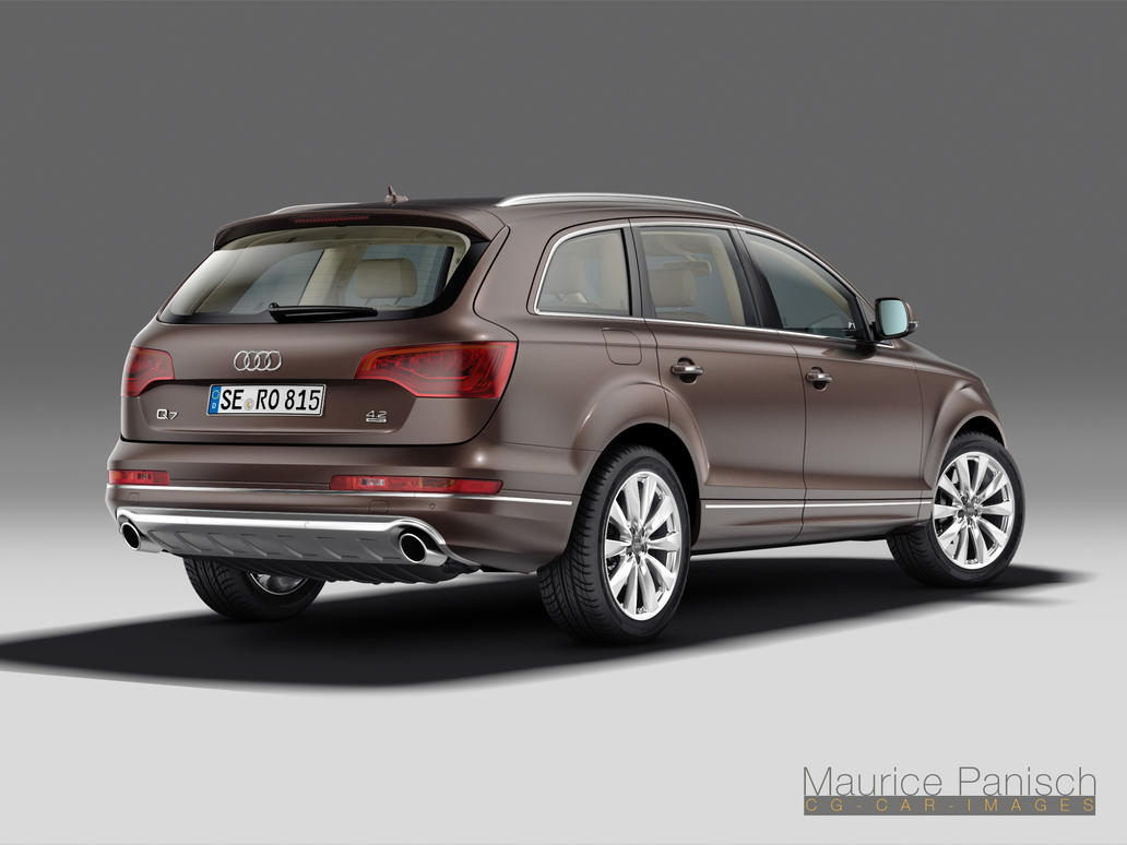 Audi Q7 2010 Studio V II rear by MUCK-ONE