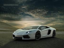 Lamborghini Aventador by MUCK-ONE