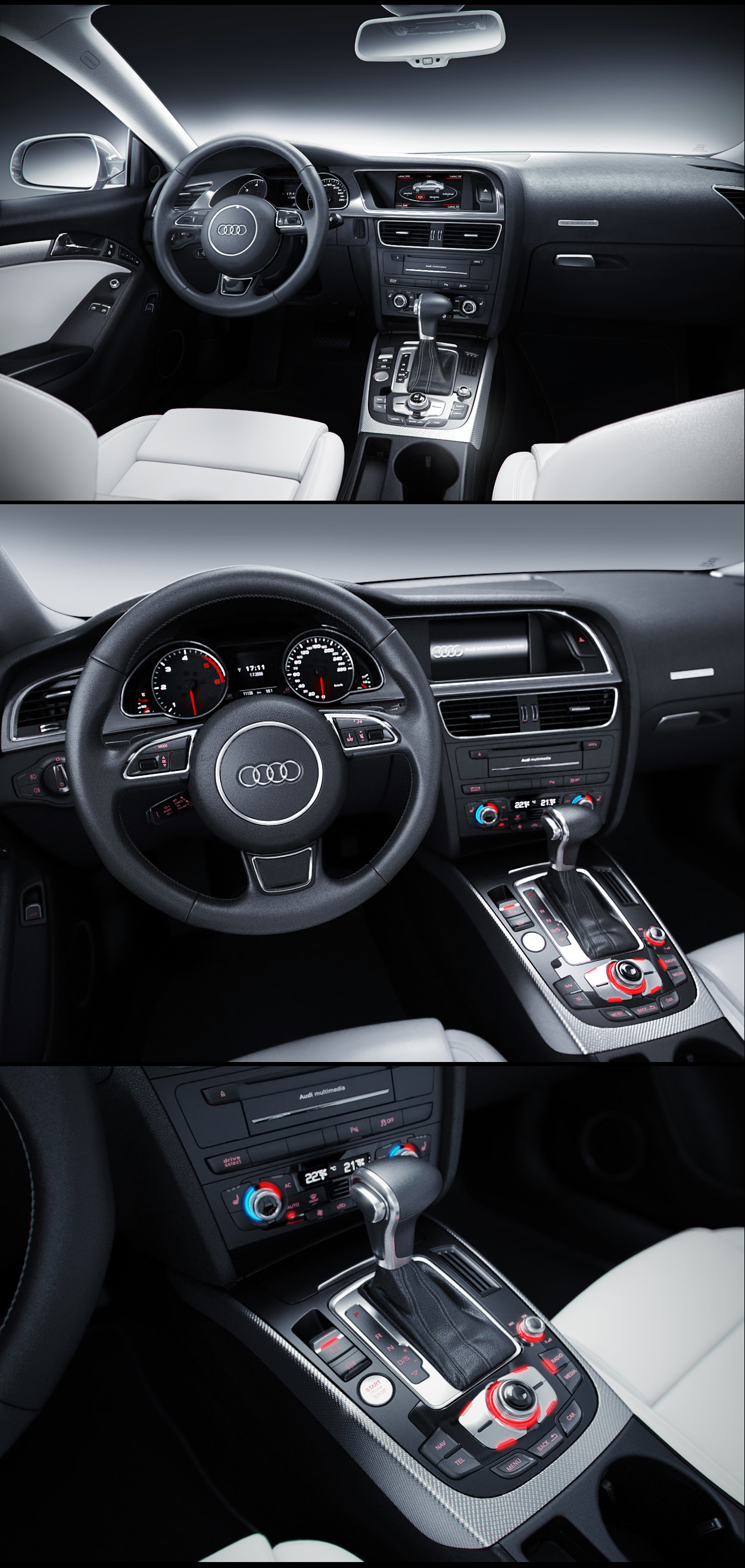 Audi A5 2011 Interior by MUCK-ONE