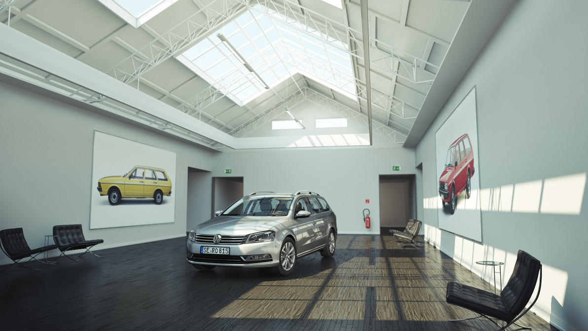 VW PAssat 2011 by MUCK-ONE