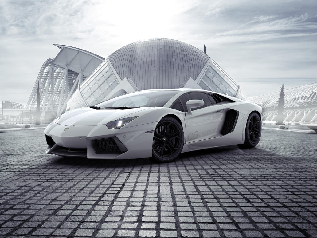 Lamborghini Aventador by MUCK-ONE