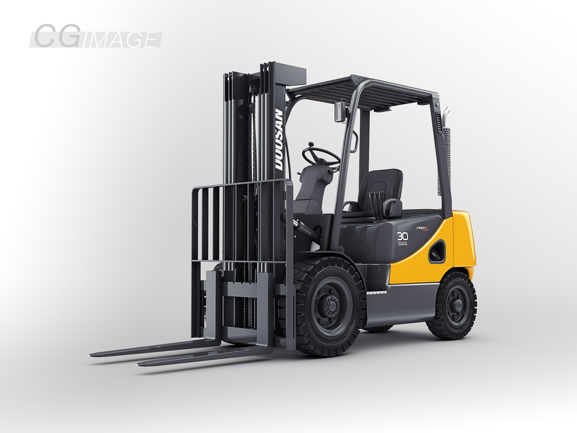 Doosan-D30S Forklift by MUCK-ONE
