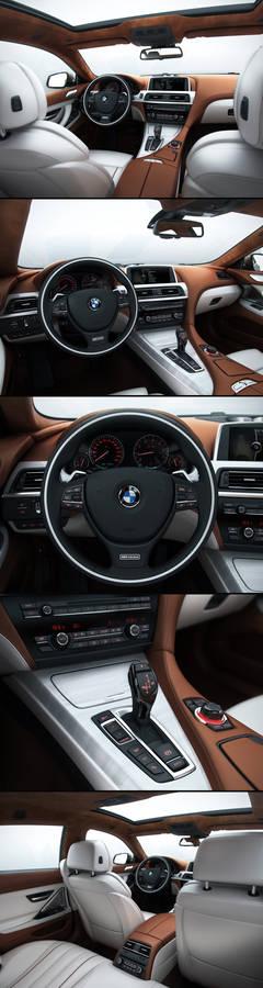 BMW 6 Gran Coupe Interior