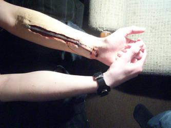 zipper arm 3 by MC-Ouchman
