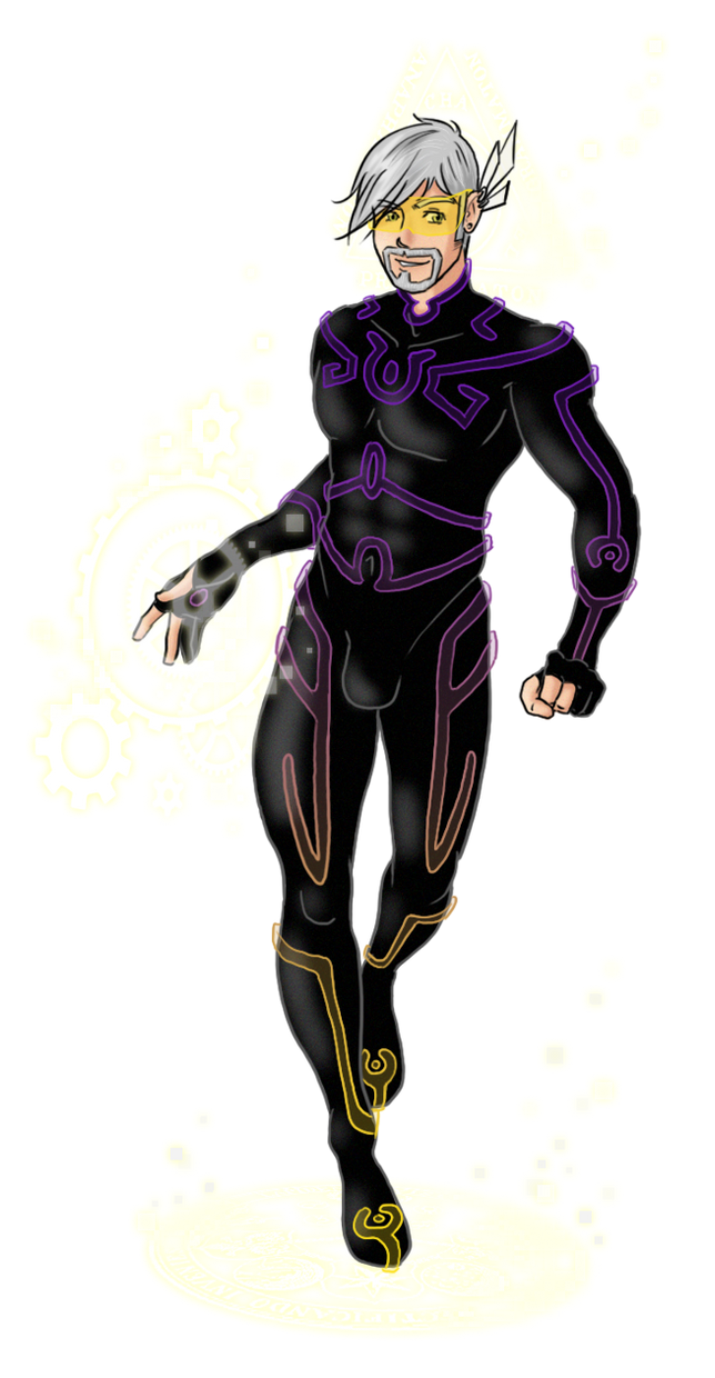 Paradoxal Violet Ranger - Ready to fight! by OnirikWay