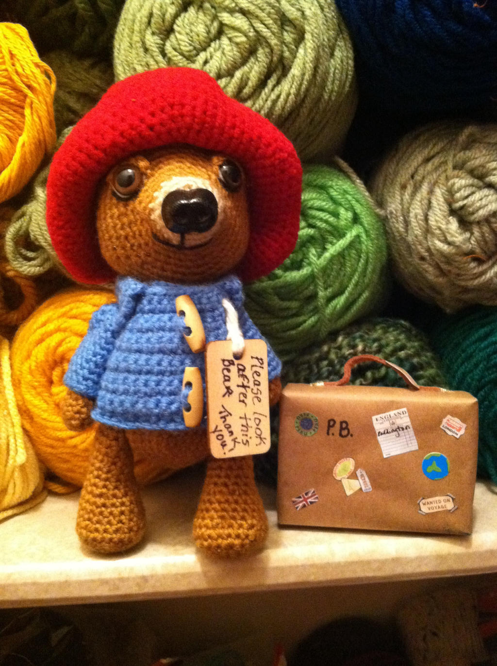Amigurumi Paddington Bear : Paddington Bear Amigurumi by Yarnigurumi on DeviantArt