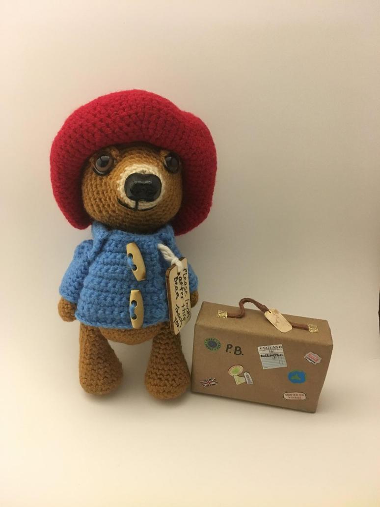 Paddington Bear Amigurumi by Yarnigurumi