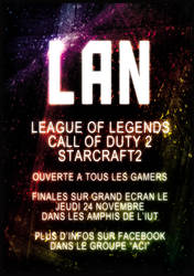 Affiche LAN