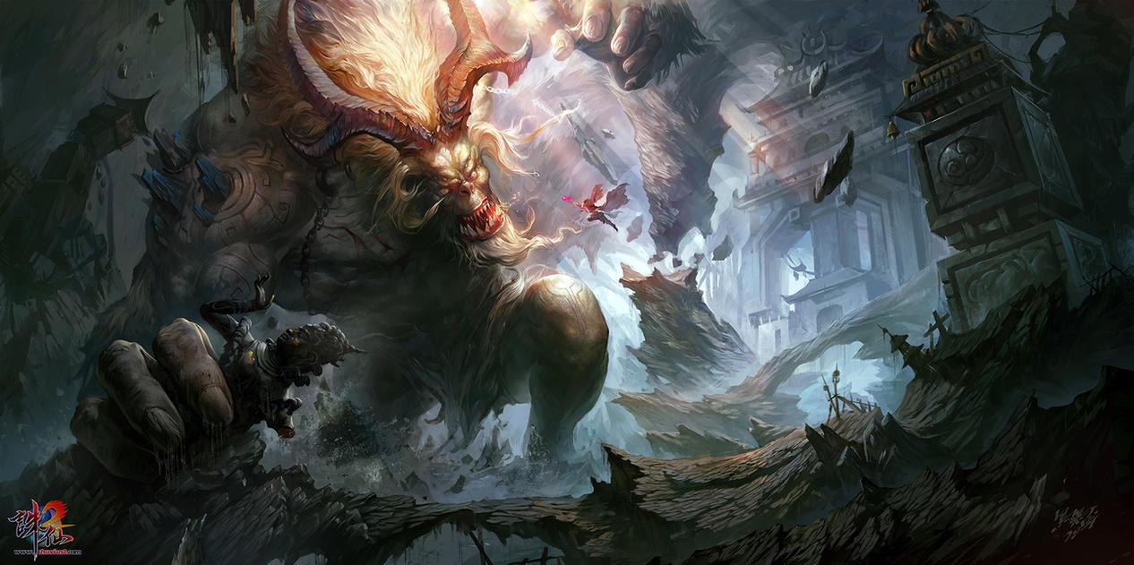 Zhuxian by crow-god